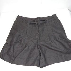 Jodi Arnold The Limited Black Linen Blend Shorts